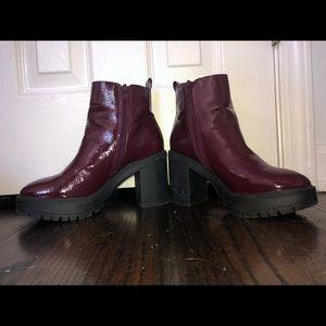 Burgundy Steve Madden Boots